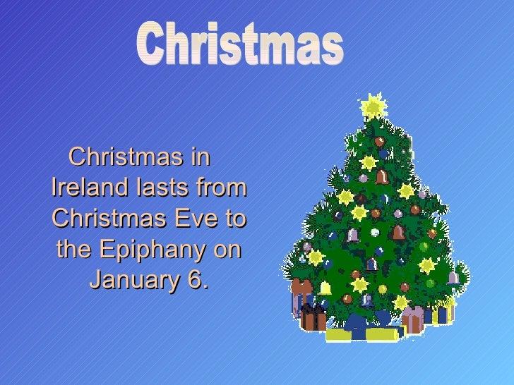 Christmas In Ireland