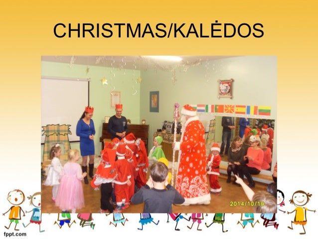 Christmas traditions in Karmelava kindergarten, Lithuania