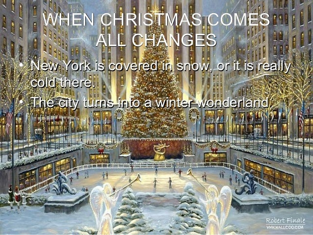 Christmas In Newyork Powerpoint