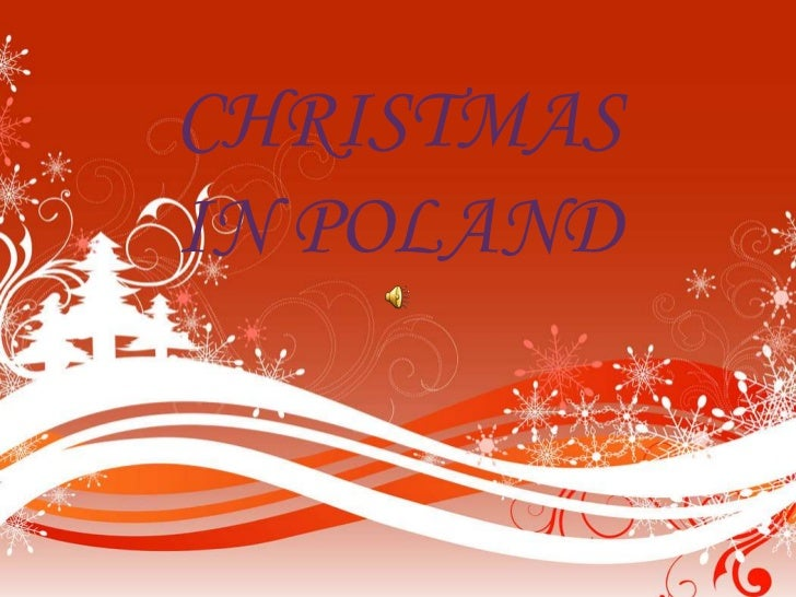 CHRISTMASIN POLAND