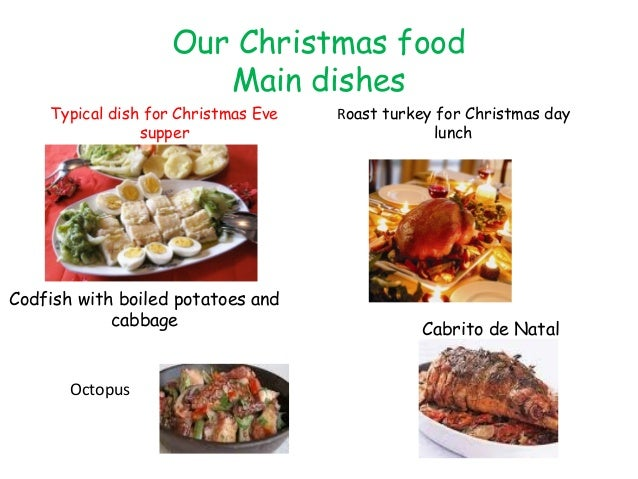 Christmas in portugal and Christmas food!