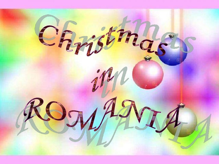 Christmas<br /> in <br />ROMANIA<br />