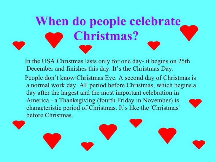 2 when do people celebrate christmas - How Many People Celebrate Christmas