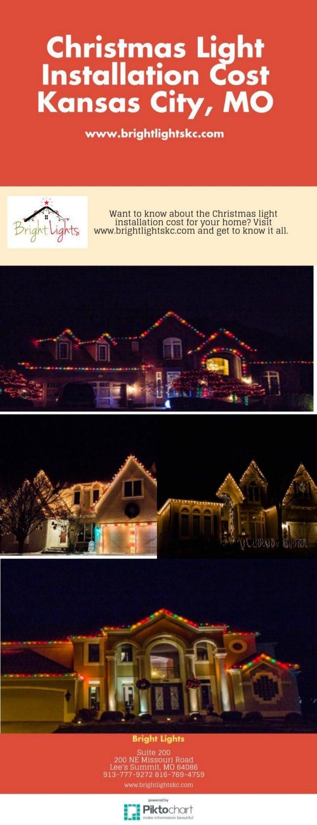 Christmas Light Installation Cost Kansas City, MO   Www.brightlightskc.com