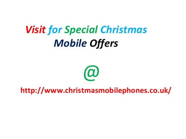 Virgin mobile christmas deals