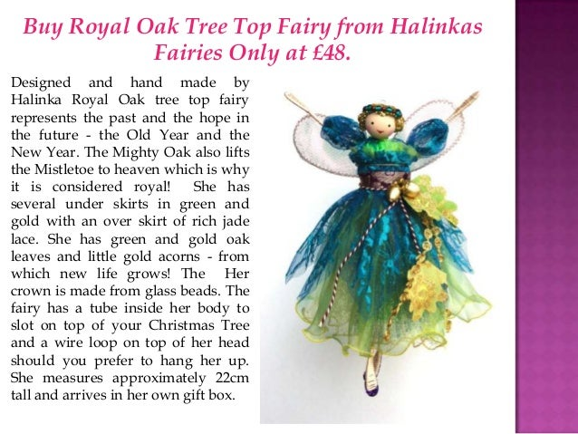 Christmas Near! Buy Halinka Fairies For Christmas Tree
