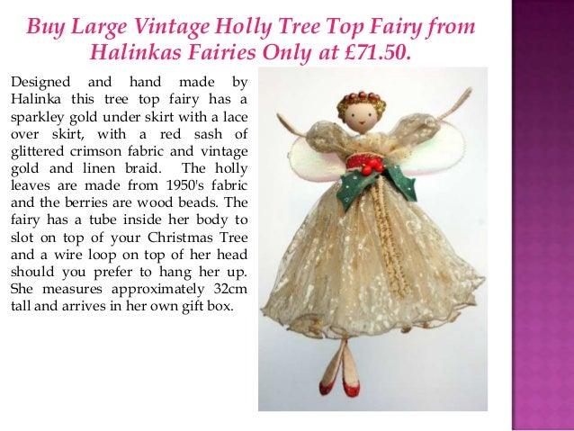 Christmas Near! Buy Halinka Fairies For Christmas Tree