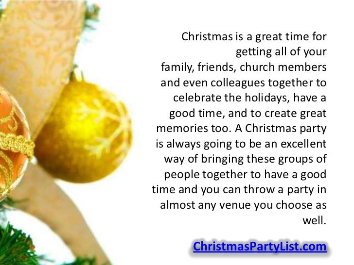 Christmas Party Ideas For Church Groups Part - 29: Christmas ...