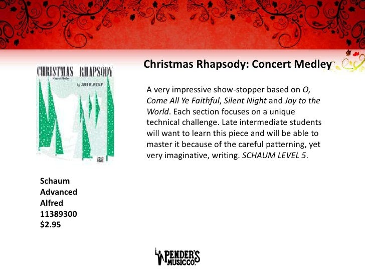 Christmas: Piano Sheet Music Reading Session 2011