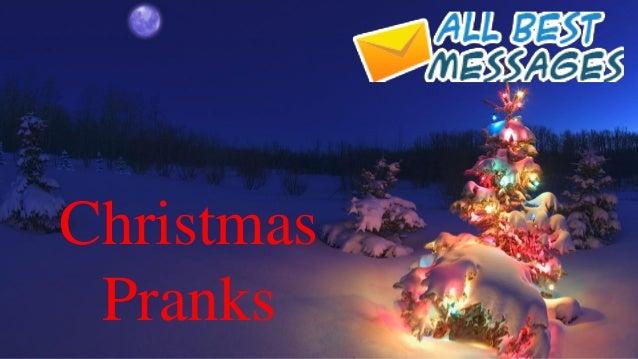 Christmas Pranks.Christmas Pranks At Work