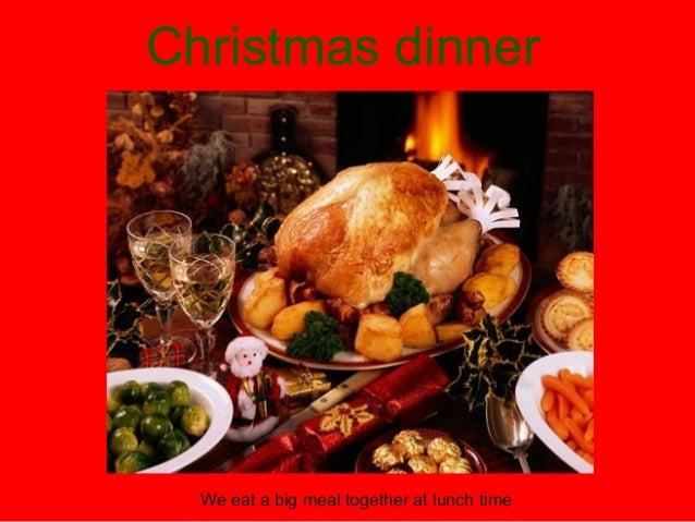 Christmas dinner  Turkey