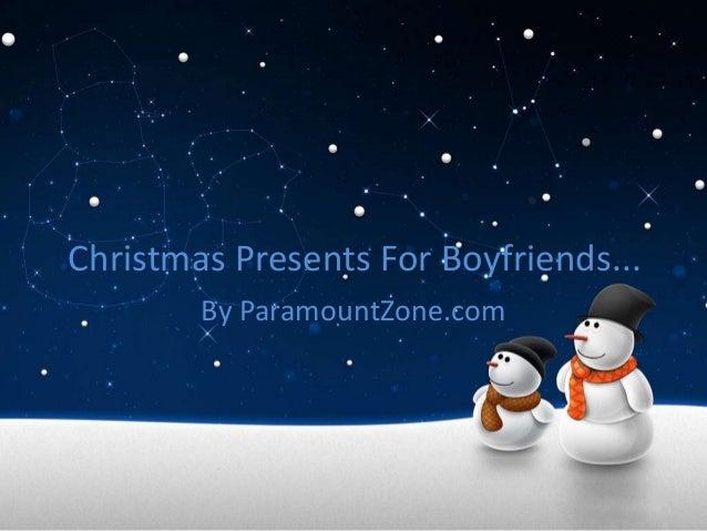 Christmas Present Ideas For Boyfriend