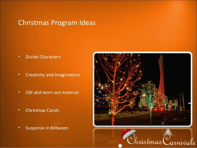 44 Best Images About Church Program Ideas For Christmas On: Christmas Program Ideas