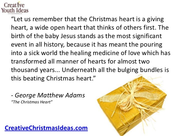 an analysis of the true meaning of christmas Christmas poem on the true meaning of christmas being jesus there is also an option to listen to this christmas poem if you would like to just click on the link above the title of the poem.