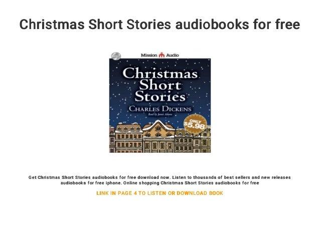 Christmas Short Stories.Christmas Short Stories Audiobooks For Free