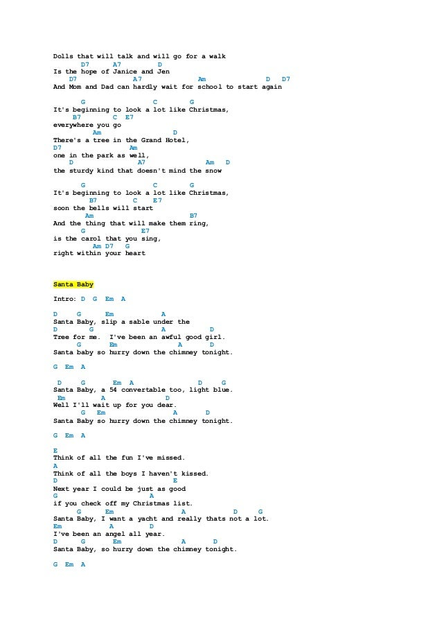 Image Of Christmas Tree Chords Song lyrics with guitar chords for O ...