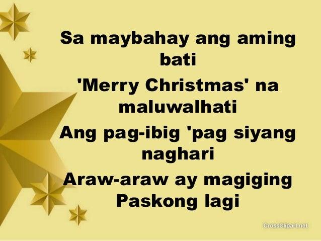 tagalog christmas songs medley free download mp3