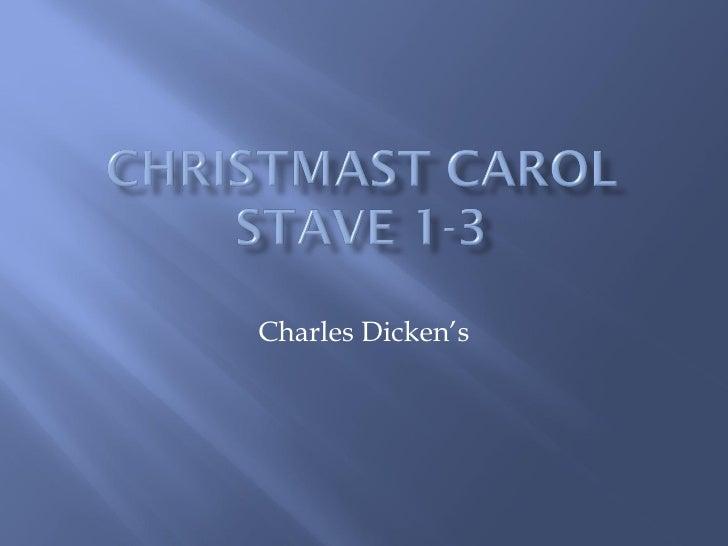 Charles Dicken's