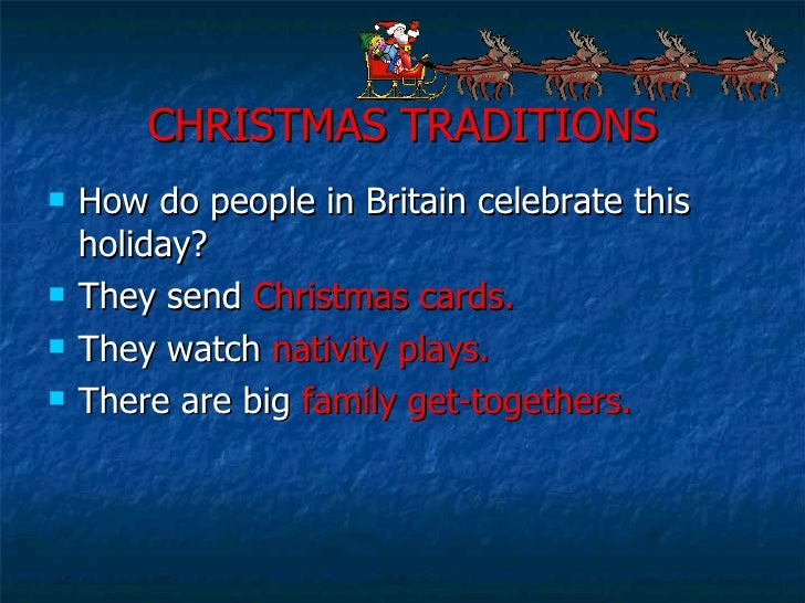 christmas traditions how do people in britain celebrate - How Does England Celebrate Christmas