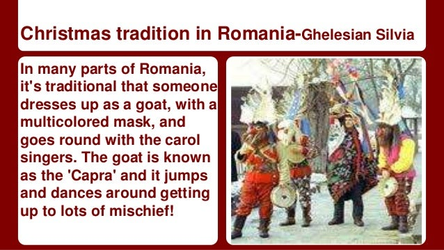 Christmas traditions in europe a collaborative presentation christmas tradition in romania ghelesian m4hsunfo