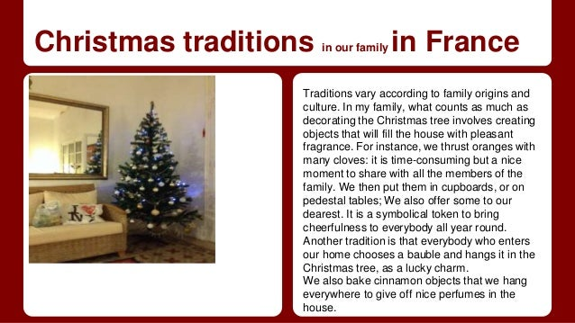 Christmas traditions in Europe - A collaborative presentation