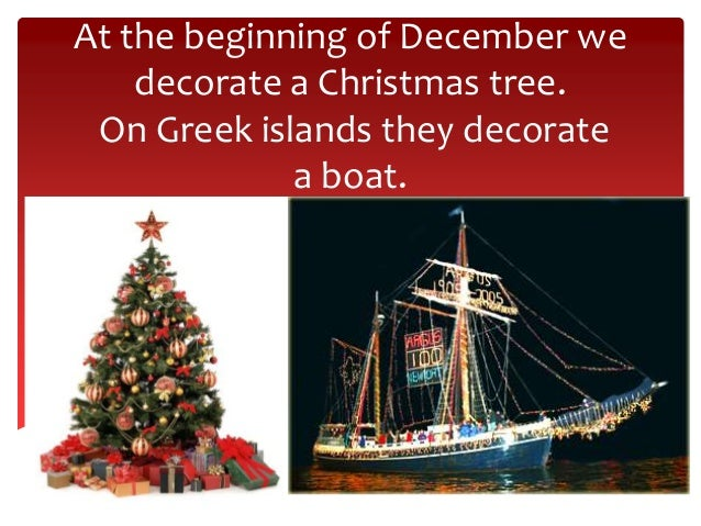 Christmas traditions in Greece Slide 2