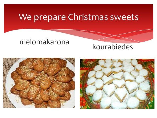 We prepare Christmas sweets melomakarona kourabiedes