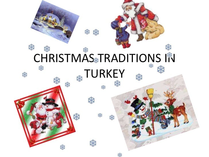Christmas traditions in turkey