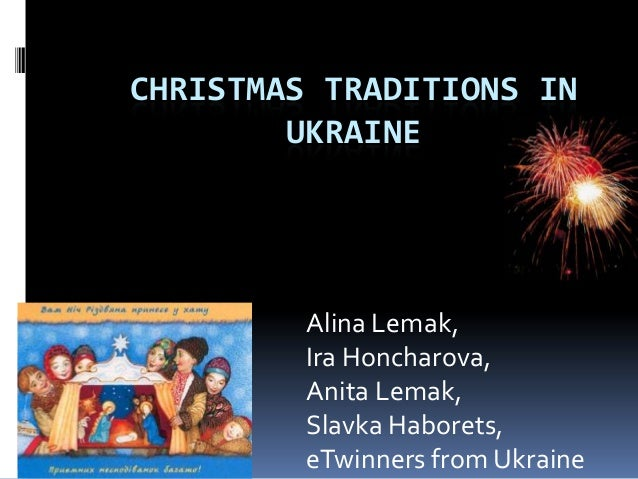 Christmas traditions in ukraine
