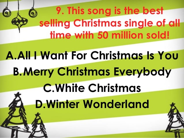 wonderland 29 9 this song is the best selling christmas single of all time - Best Selling Christmas Song Of All Time