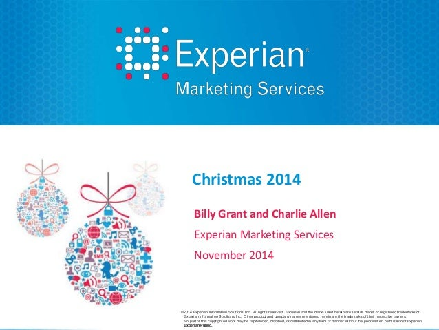experian marketing services