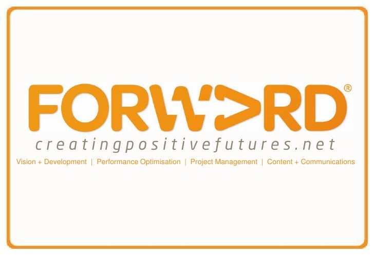 Vision + Development | Performance Optimisation | Project Management | Content + Communications