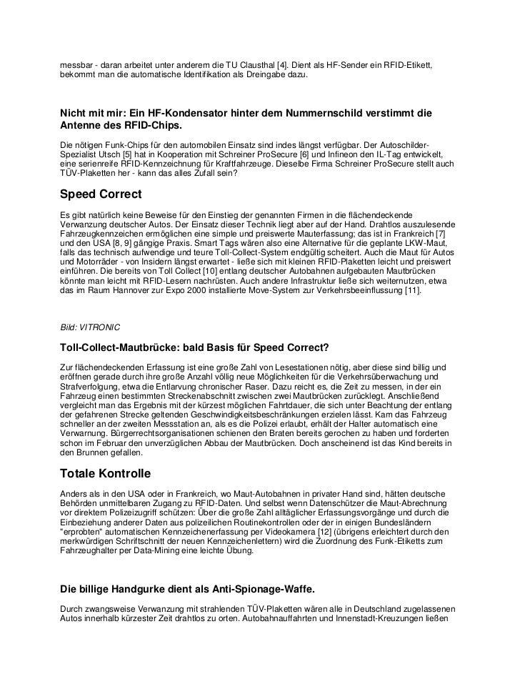 Christof windeckil-tags versteckte rfid-chips unter der tuv-plakette zur totalen uberwachung Slide 2