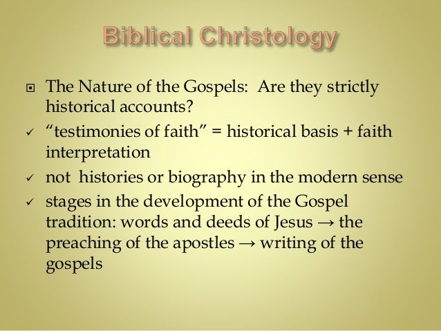 identity tradition ministry and divinity in the christology in the gospels of matthew mark luke and  Oral tradition the written gospels the persons traditionally recognized as the authors of the four gospels, matthew, mark, luke which parts of the bible.