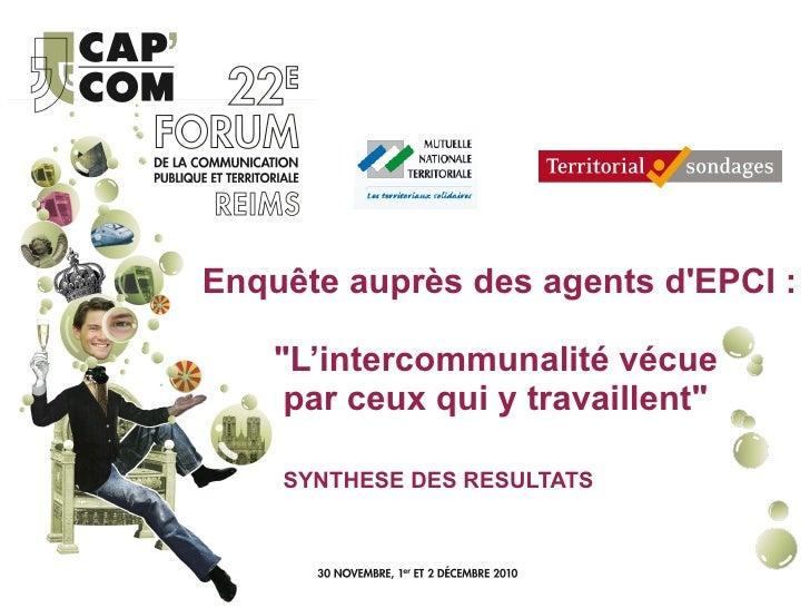 AT15 - Intercommunalité : communiquer en direction des élus et des personnels