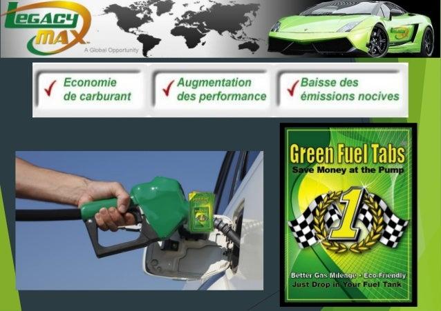 Intérêt des Green Fuel Tabs
