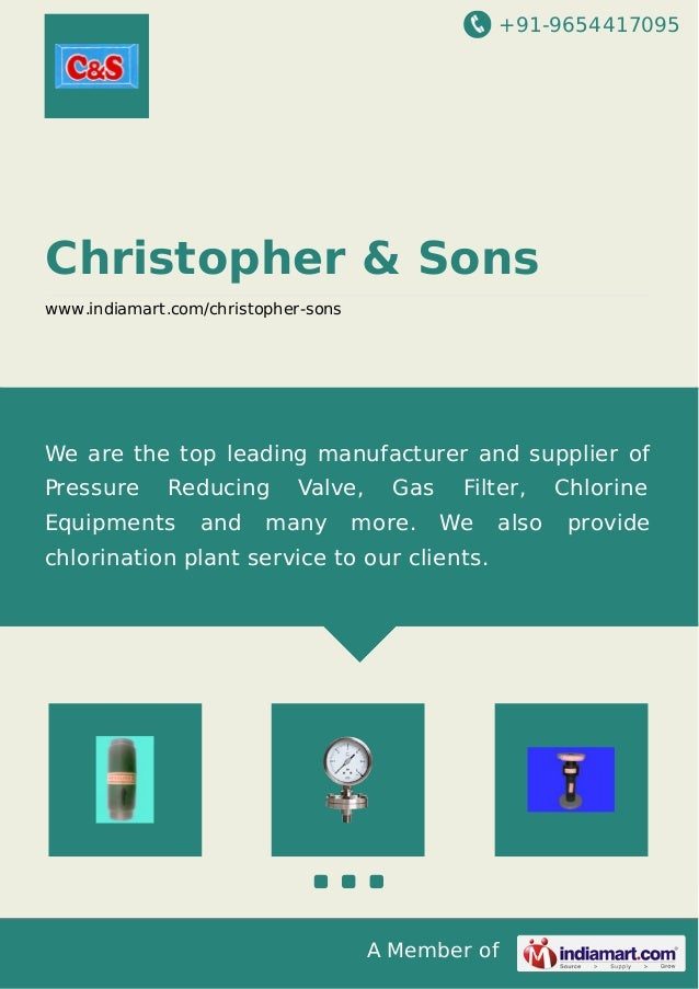 +91-9654417095 A Member of Christopher & Sons www.indiamart.com/christopher-sons We are the top leading manufacturer and s...
