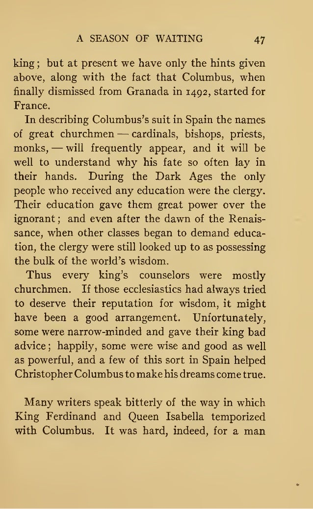 Christopher Columbus Letter To King Ferdinand.Christopher Columbus