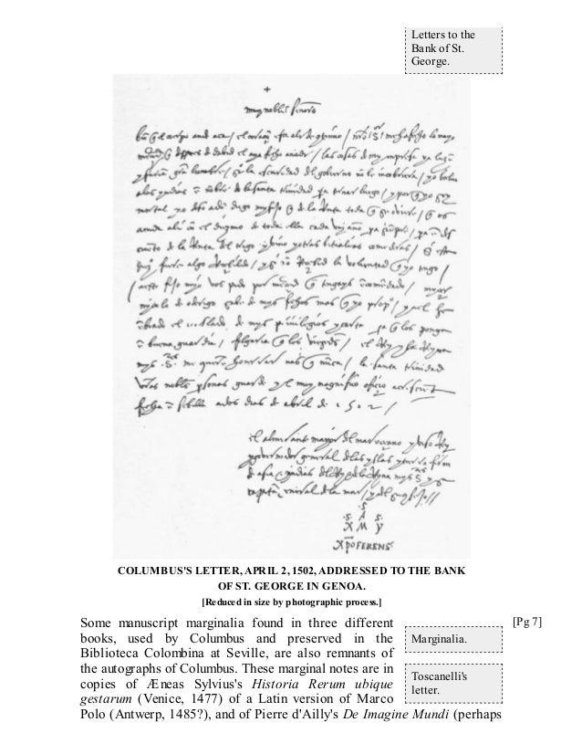 Christopher columbus essays