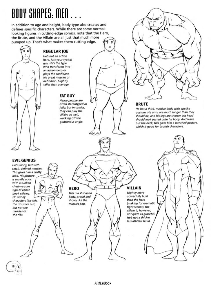 anatomy for comic artists pdf