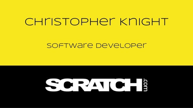 Software Developer Christopher Knight