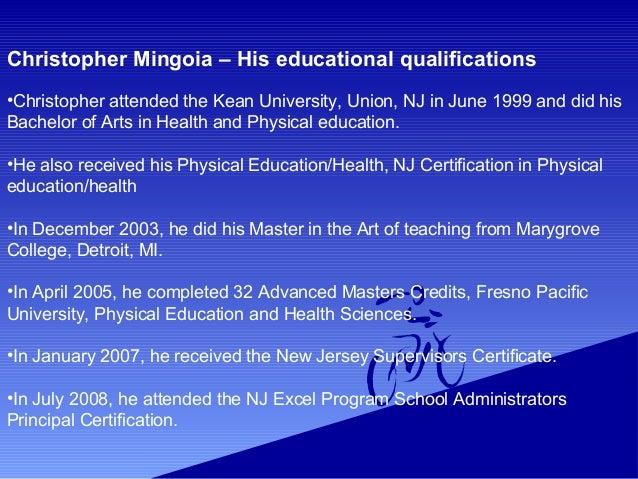 Christopher Mingoia Former Vice Principal At Ronald Reagan