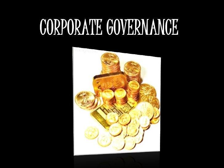 CORPORATE GOVERNANCE<br />