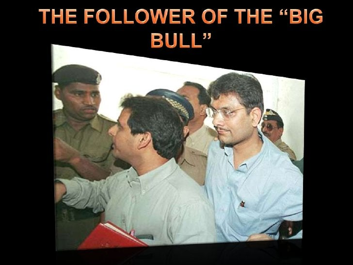 """THE FOLLOWER OF THE """"BIG BULL""""<br />"""