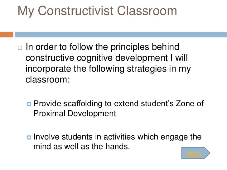 constructivist approach to learning