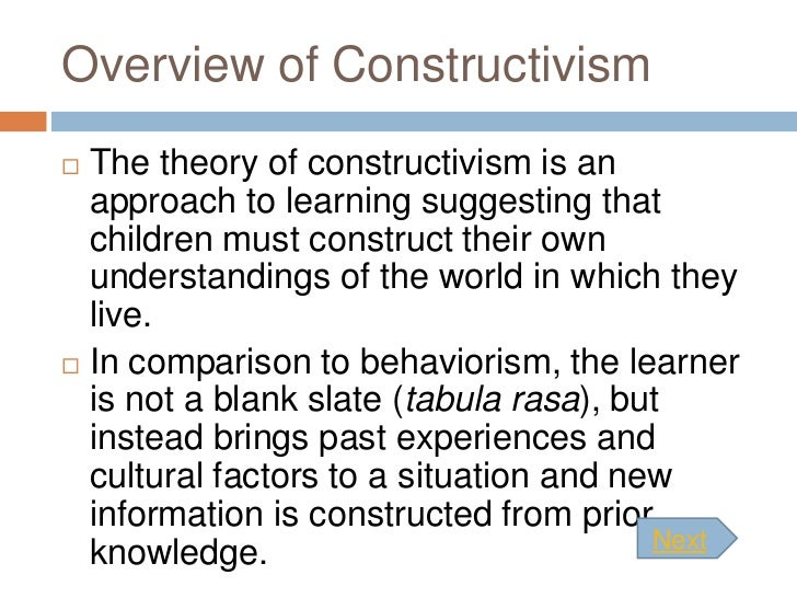 Constructivism (philosophy of education)