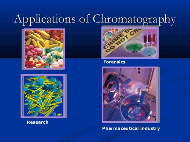 how is chromatography used in forensic science