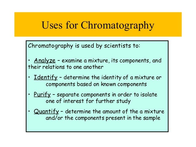 What Factors Play a Role in Separating Pigments With Paper Chromatography?