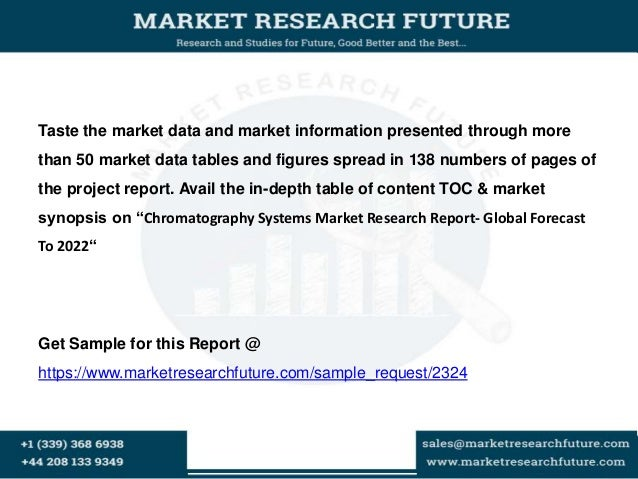 Chromatography Systems Market Research Report- Global Forecast To 2022 Slide 2