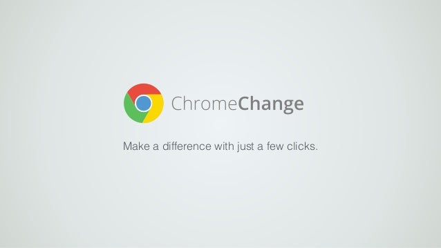 Make a difference with just a few clicks.